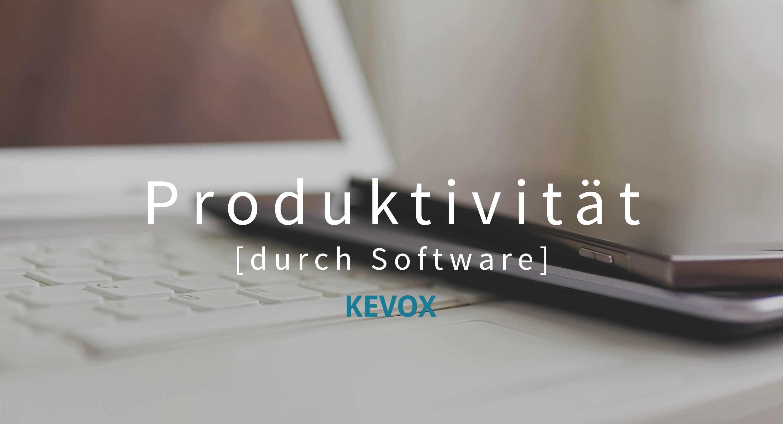 Produktivität durch software