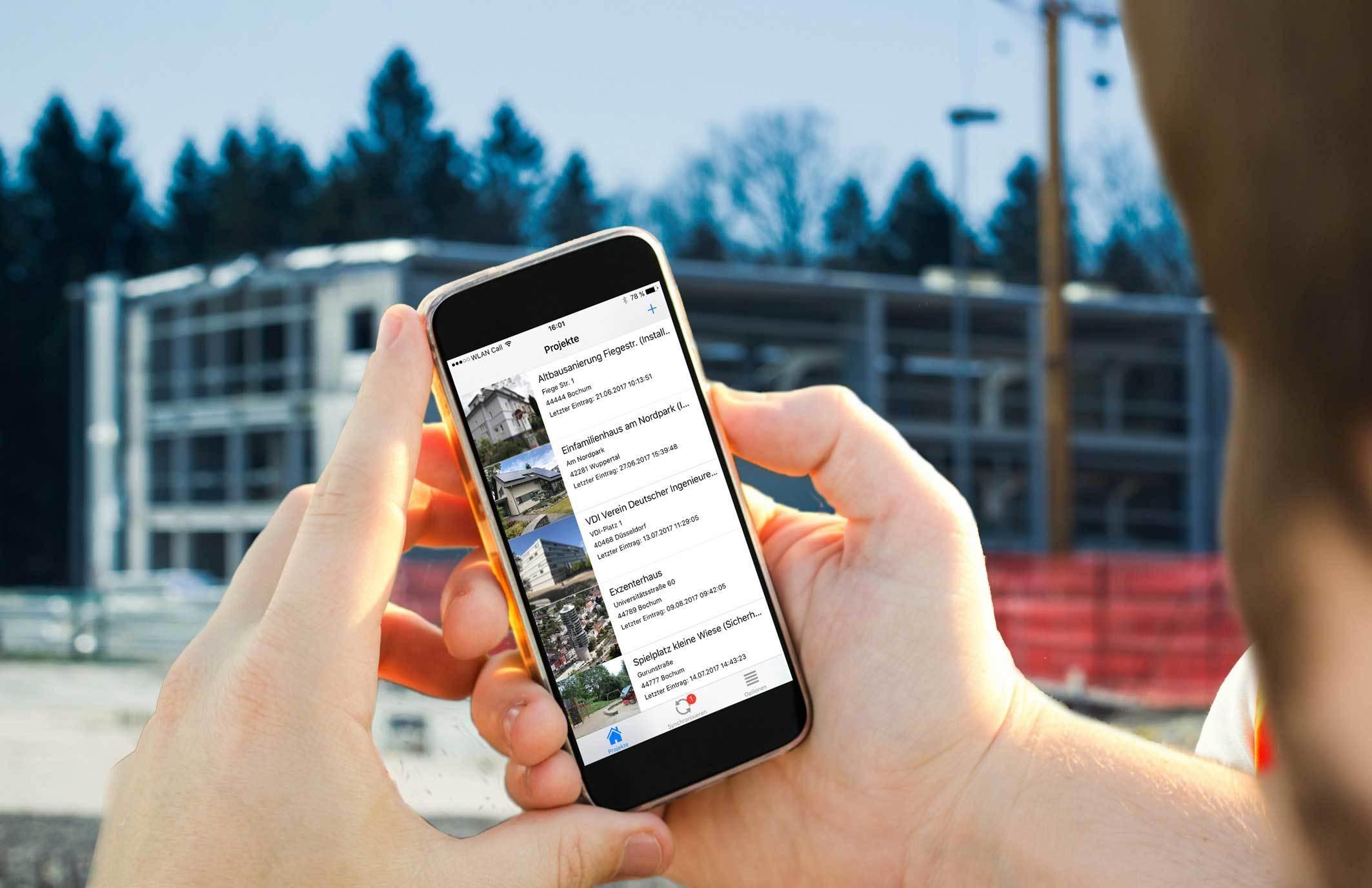 kevox go smartphone app für digitale dokumentation im brandschutz bau handwerk arbeitssicherheit