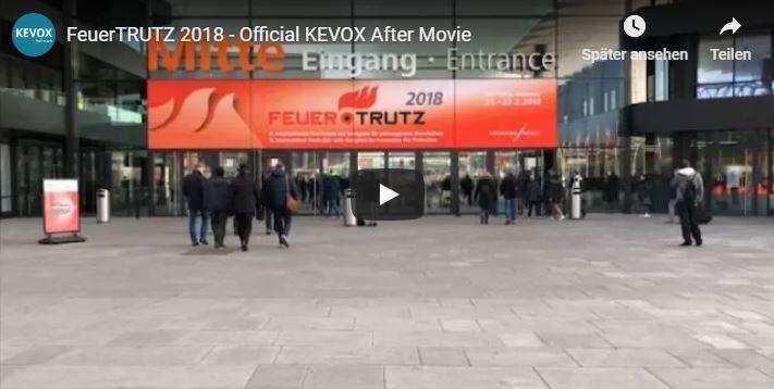 Feuertrutz Messe Nürnberg 2018 Impressionen von KEVOX - das offizielle Aftermovie