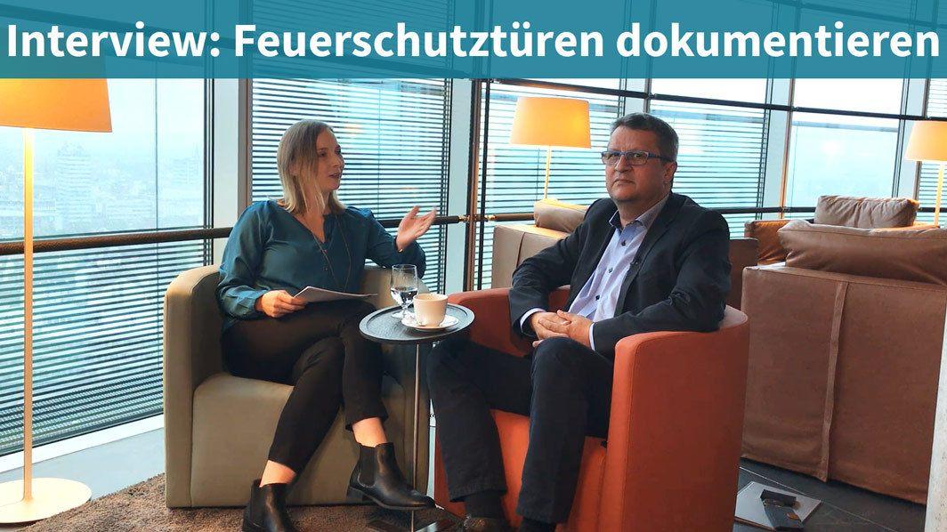 Feuerschutztüren Dokumentieren - Interview- Herr Fassbender