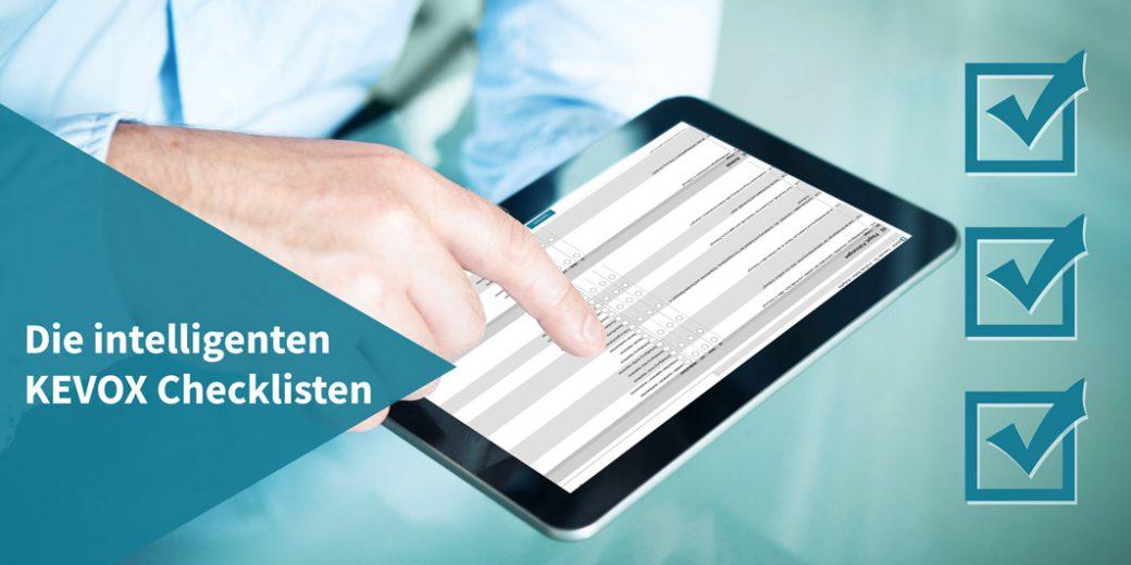 Checklisten und digitale Formulare mit KEVOX