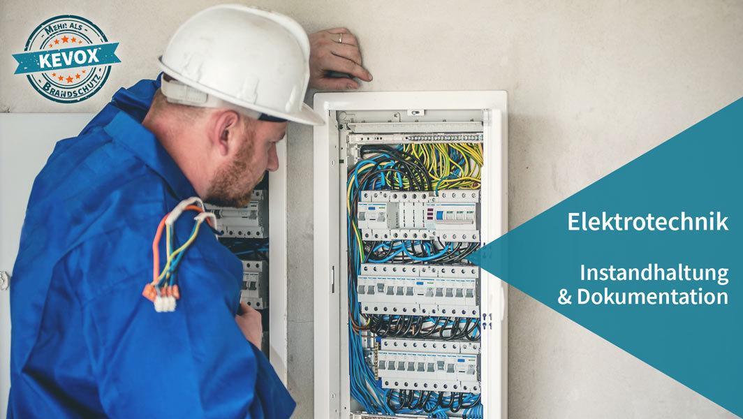 Elektrotechnik Instandhaltung Pruefung mit KEVOX Software