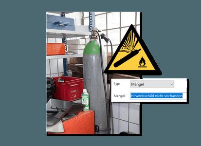 Arbeitsschutzmaengel-aufnehmen mit Software oder App direkt vor Ort