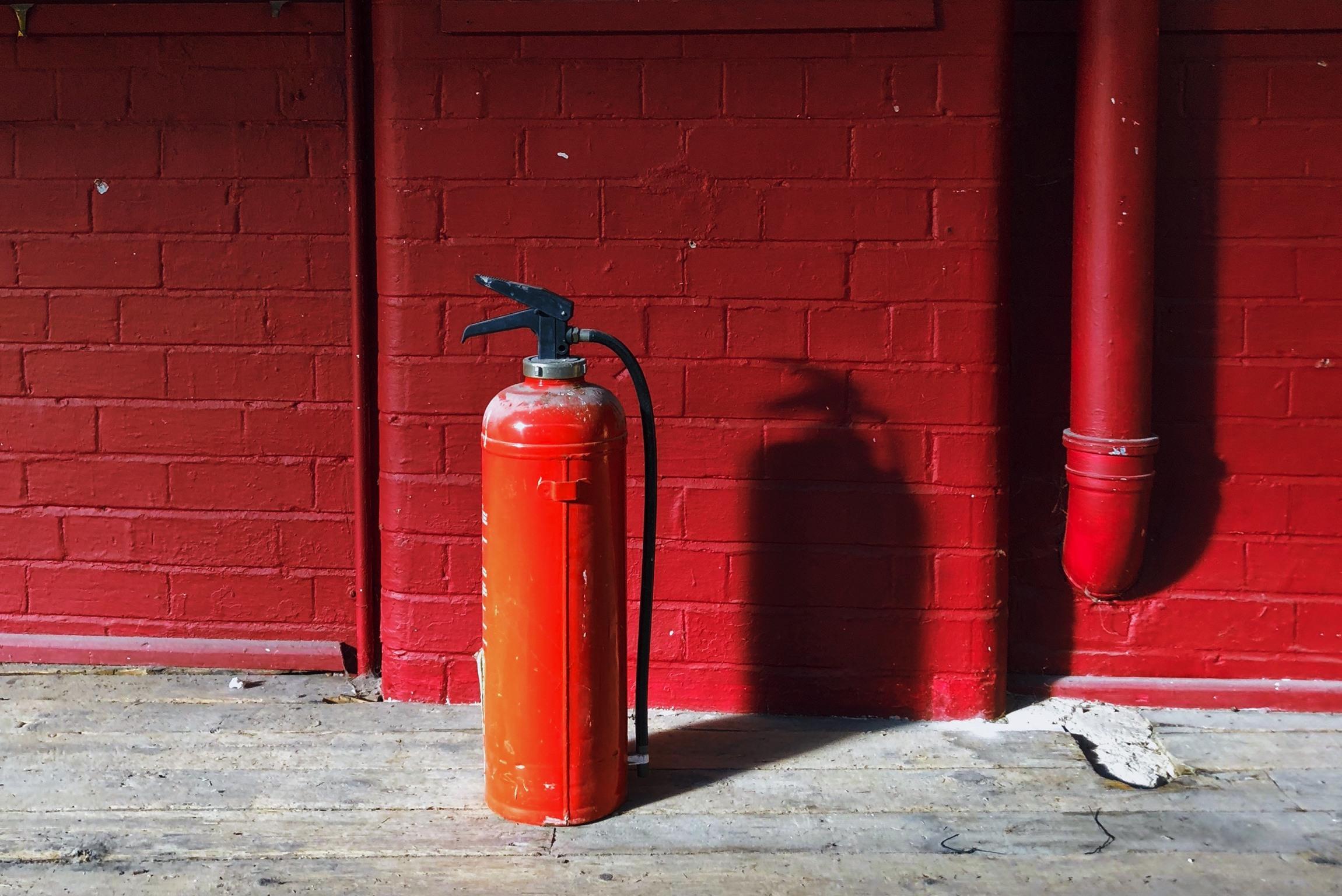 Brandschutz auf der Baustelle Anzahl Feuerlöscher