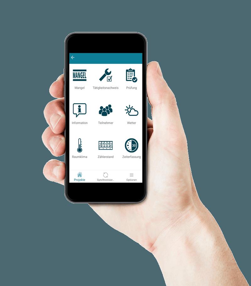 KEVOX-GO-App für digitale dokumentation im brandschutz bau handwerk Arbeitsschutz