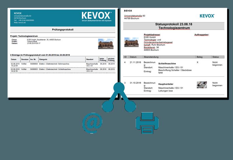 elektrotechnik maengelberichte und pruefberichte ausgeben per app oder software