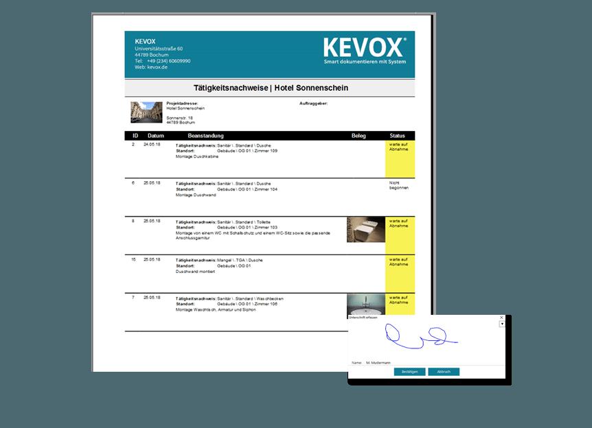 shk-bericht-mängelbeseitigung und reperaturarbeiten nachhaltig dokumentieren