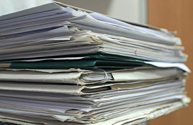 Brandschutzdokumentation im Papierformat
