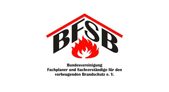 Brandschutz-Verein: BFSB - Bundesvereinigung Fachplaner und Sachverständige für den vorbeugenden Brandschutz e.V.