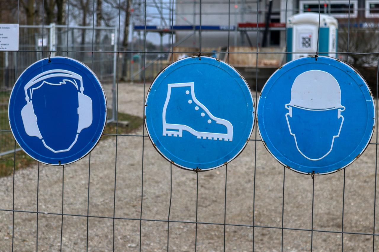 Arbeitsschutzgesetz Arbeitsschutzverordnung Arbeitssicherheit Beschilderung