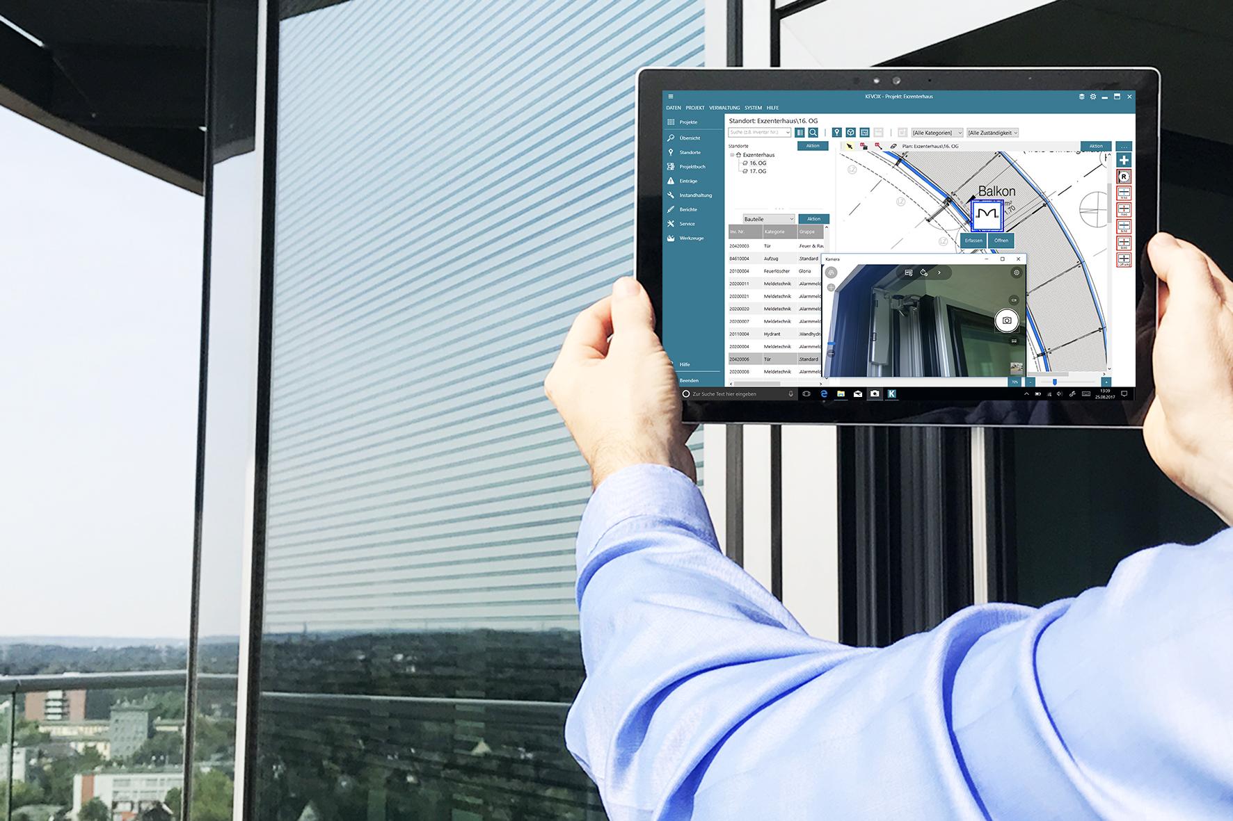 Gebäudedokumentation mit KEVOX