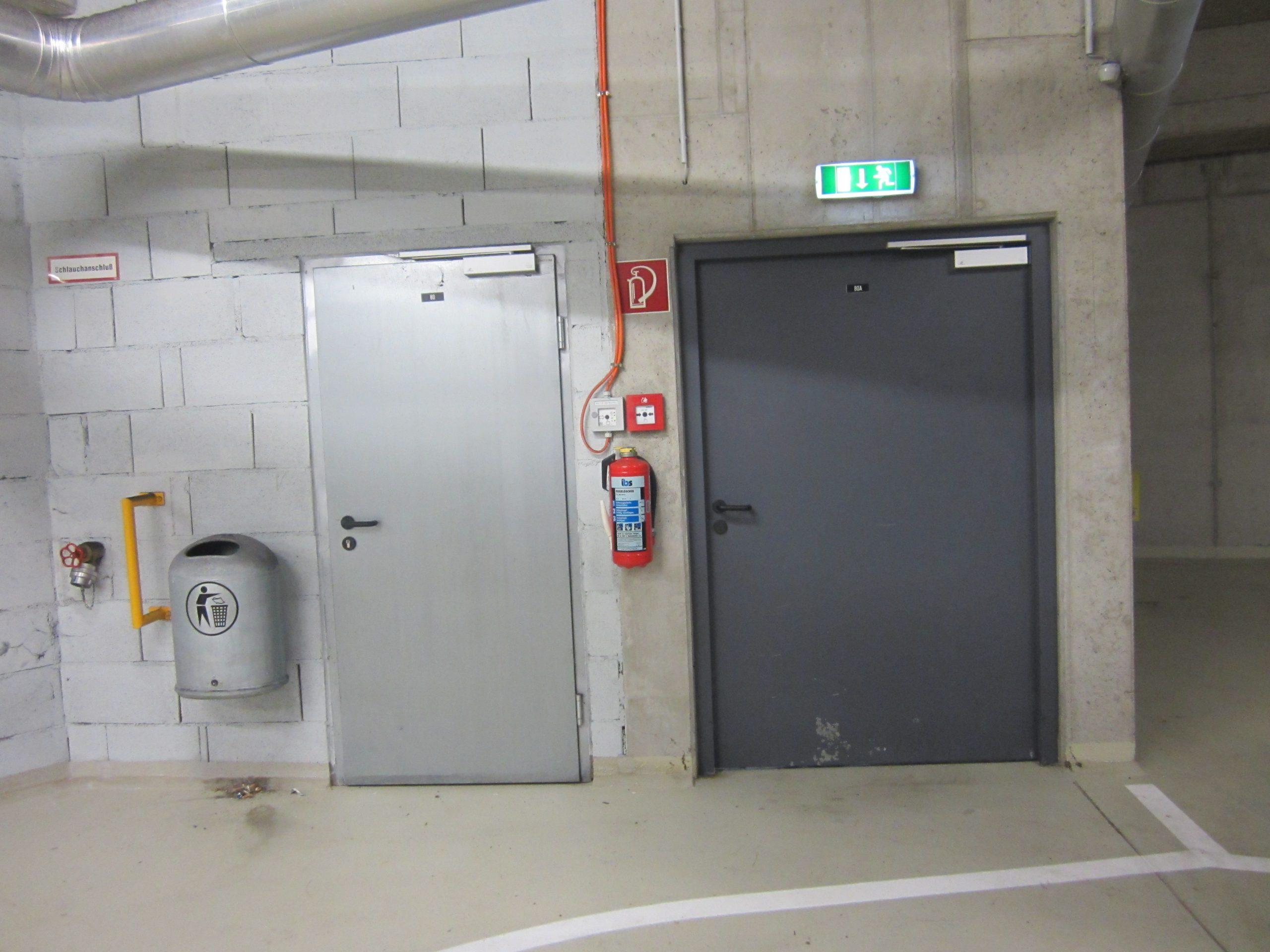 Brandschutztüren Rettungswege